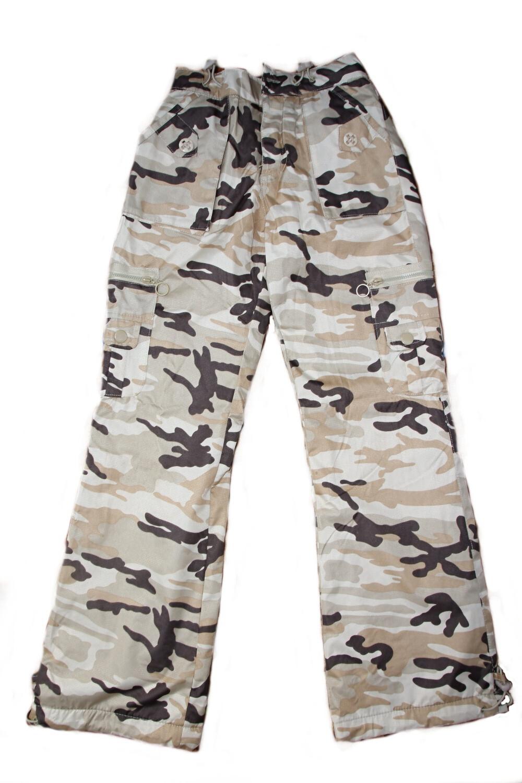 SUCCESS maskáčové zateplené nepromokavé kalhoty 311078d7281